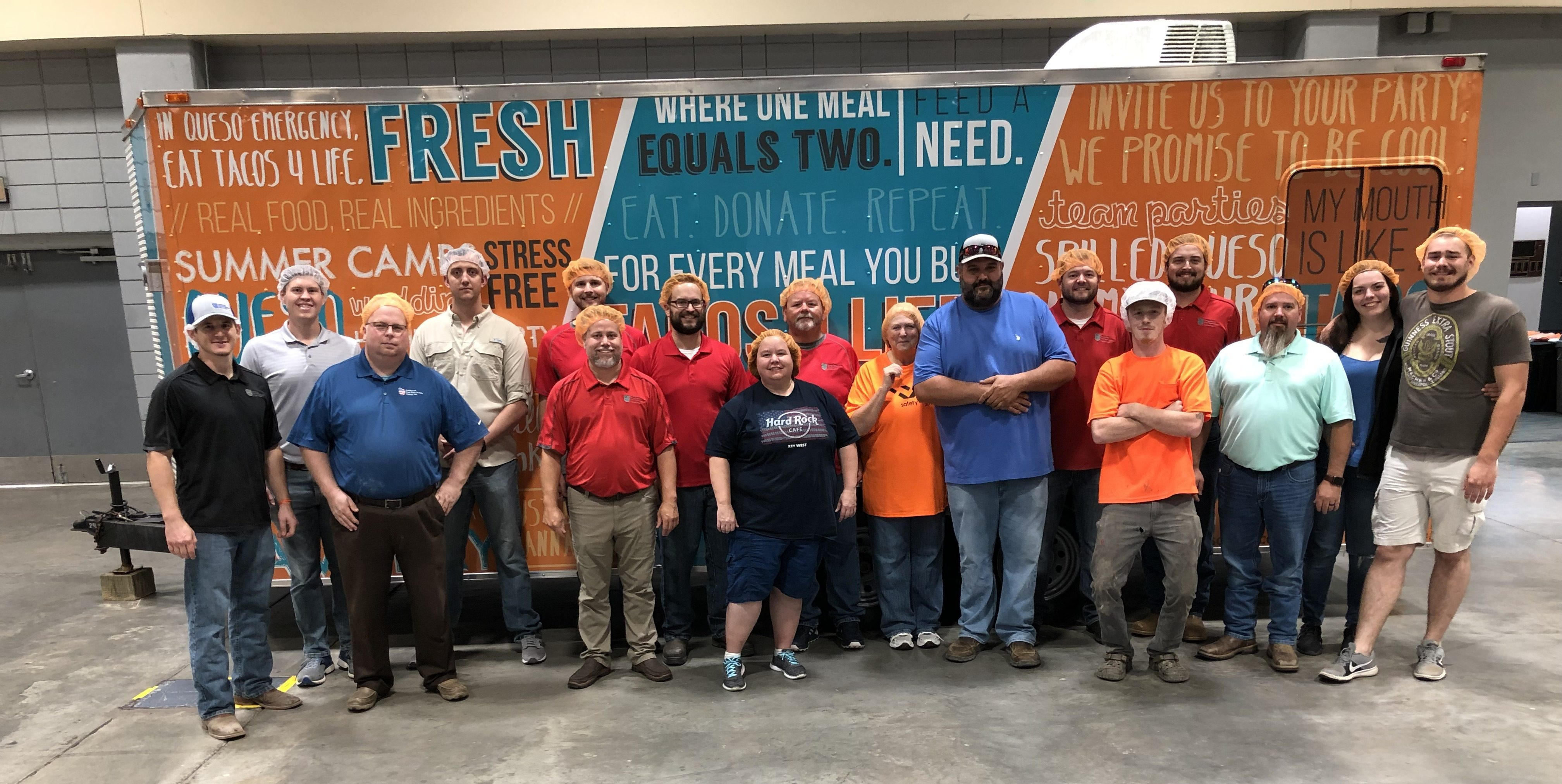 AFPG Little Rock Team Packages 8,460 meals for Feed My Starving Children Organization