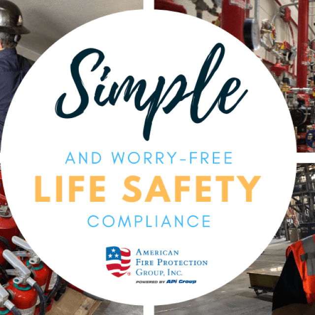 Simple and Worry-Free Life Safety Compliance